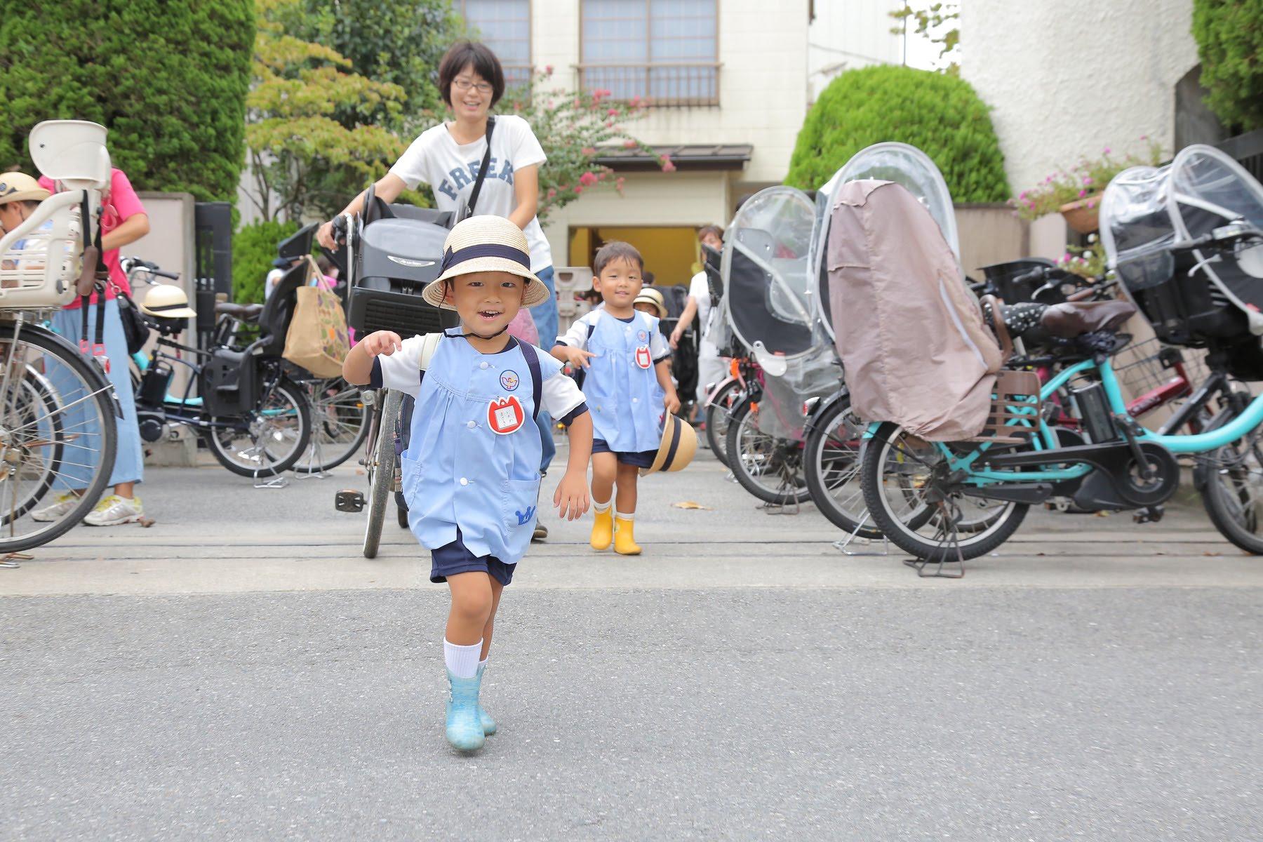 徒歩(自転車)通園